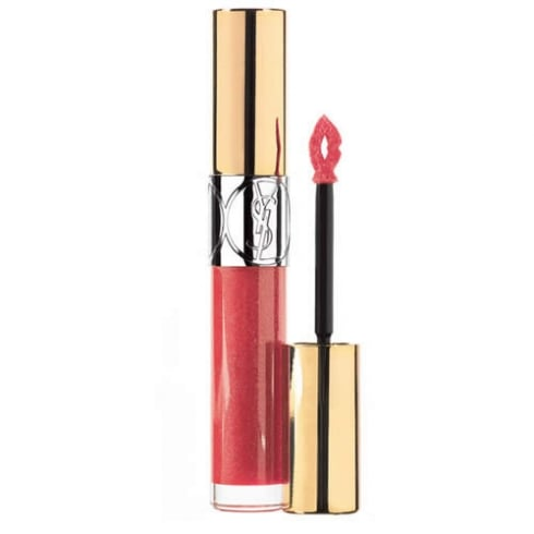 YSL Yves Saint Laurent Gloss Volupté Baume Lip Gloss 03 Rose Fusion