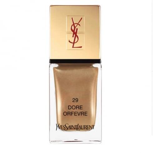 YSL Yves Saint Laurent La Laque Couture Flaunt Colour With Pride 29 Dore Orfevre