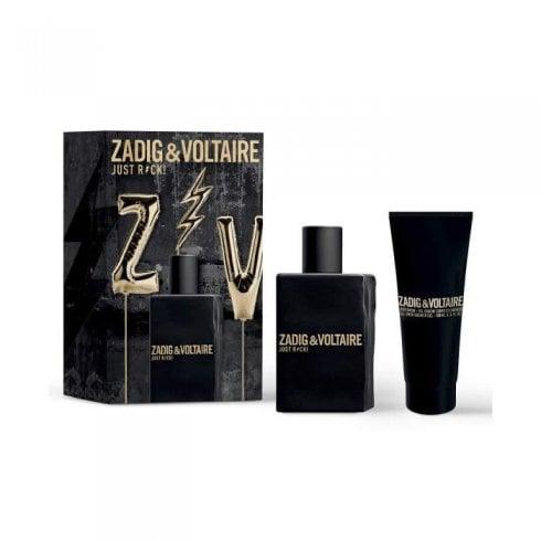 Zadig & Voltaire Just Rock Him Edt 50ml - Shower Gel 100ml