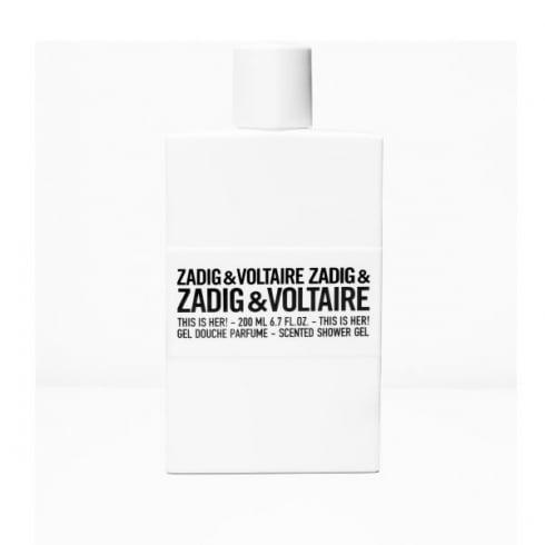 Zadig & Voltaire Zadig Et Voltaire This Is Her! Scented Shower Gel 200ml