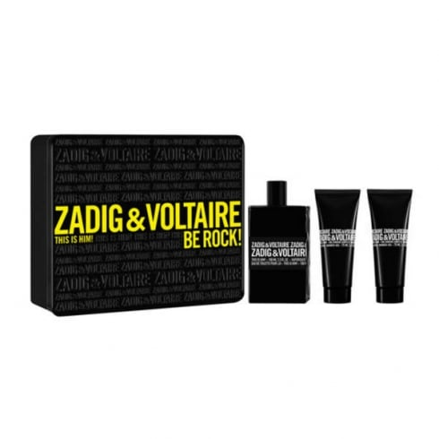 Zadig & Voltaire Zadig Et Voltaire This Is Him! EDT Spray 100ml Set 2 Pieces 2017